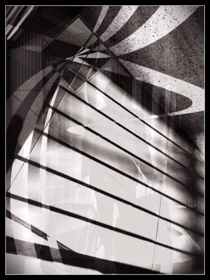 Time Travelling<br /> <br /> Native Camera, Lory Stripes, Tangent, Snapseed, Blender, and...