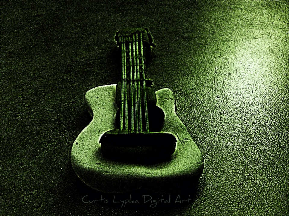 A darker take on the Playdoh acoustic.  Tangled FX app (among others) to create a rocky night...