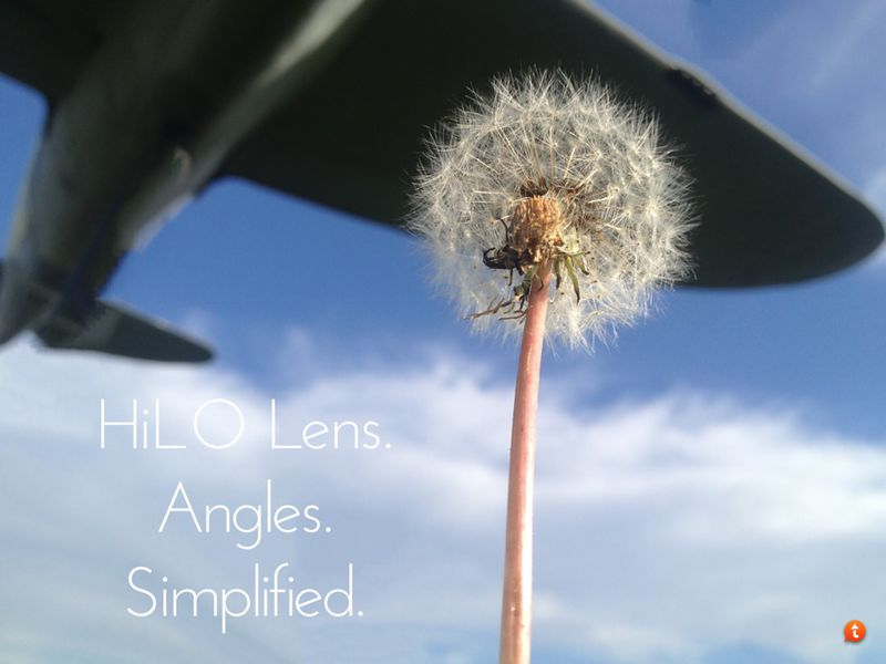 HiLO Lens. Angles. Simplified.