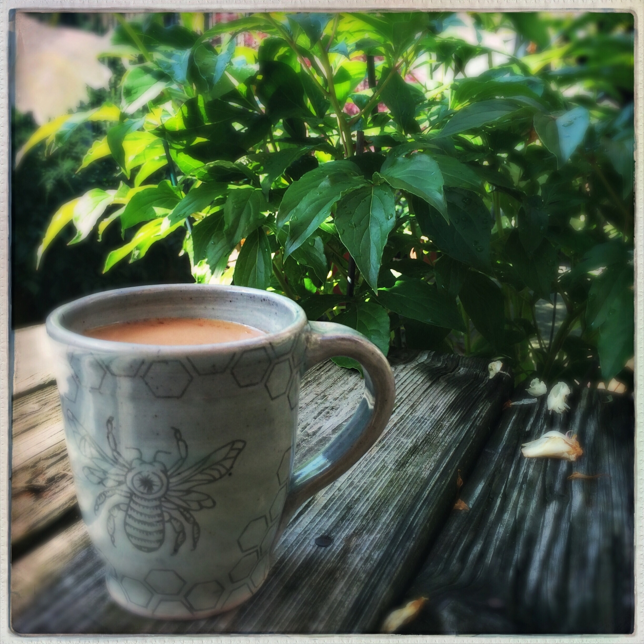 Morning coffee<br /> Hipstamatic Loftus + Robusta<br /> #21DaysWORLD #newjerseyusa