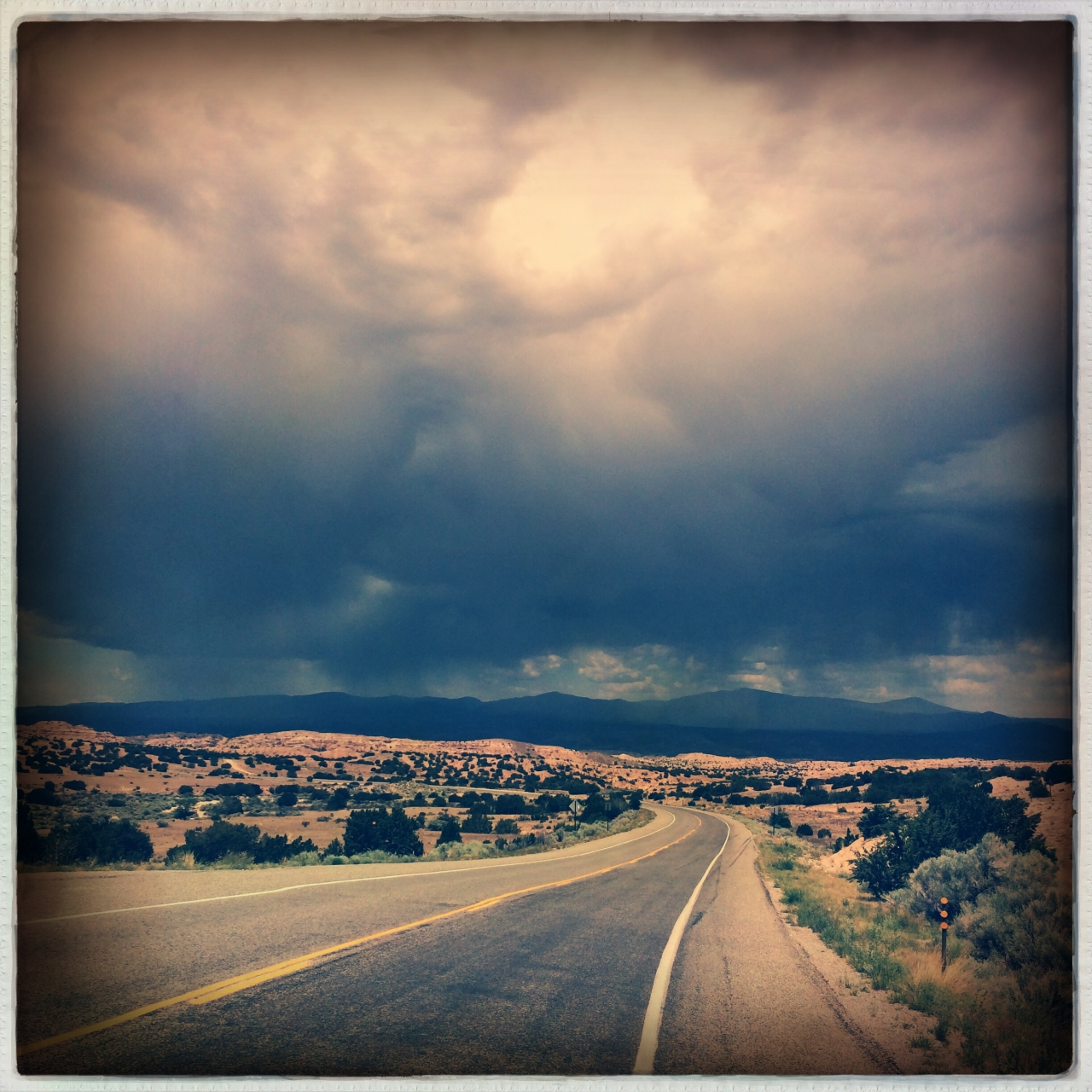High Road to Taos<br /> #21DaysWorld #SantaFe<br /> Hipstamatic