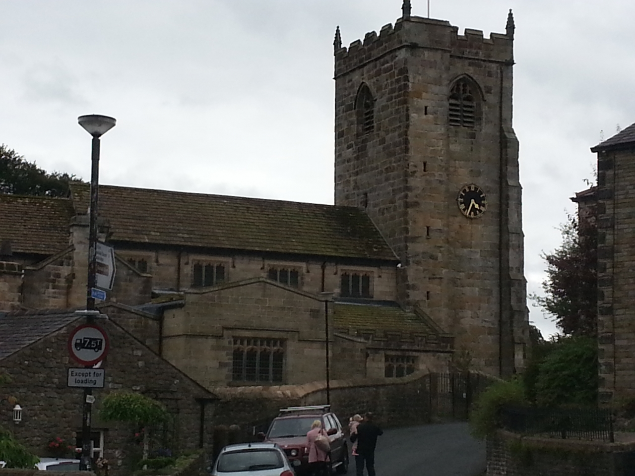 The church is in the middle of the picturesque village of<br /> Waddington and was built between...