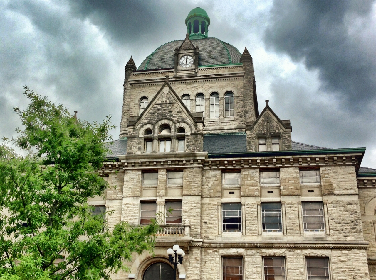 Lexington's fifth courthouse was built in 1898. (The first three were torn down; the fourth...