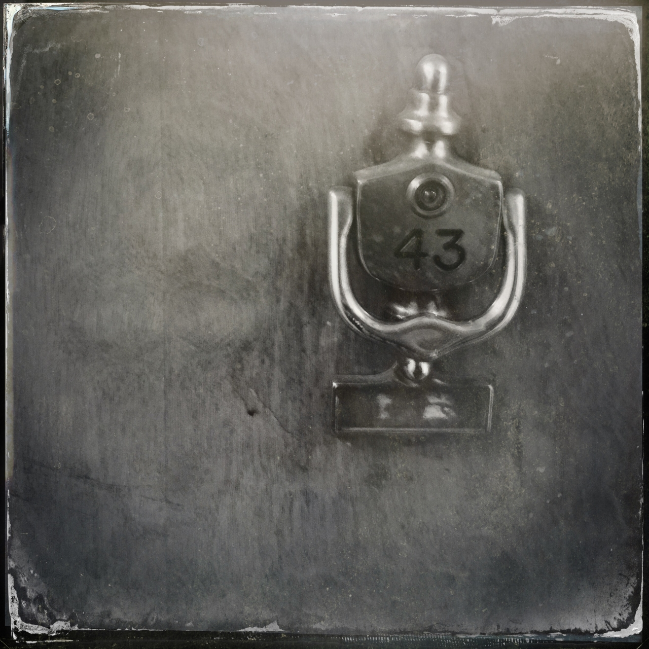 Shot with PureShot, edited with Camera+ clarity filter, Oggl Jane S lens and D-Plate TinType,...