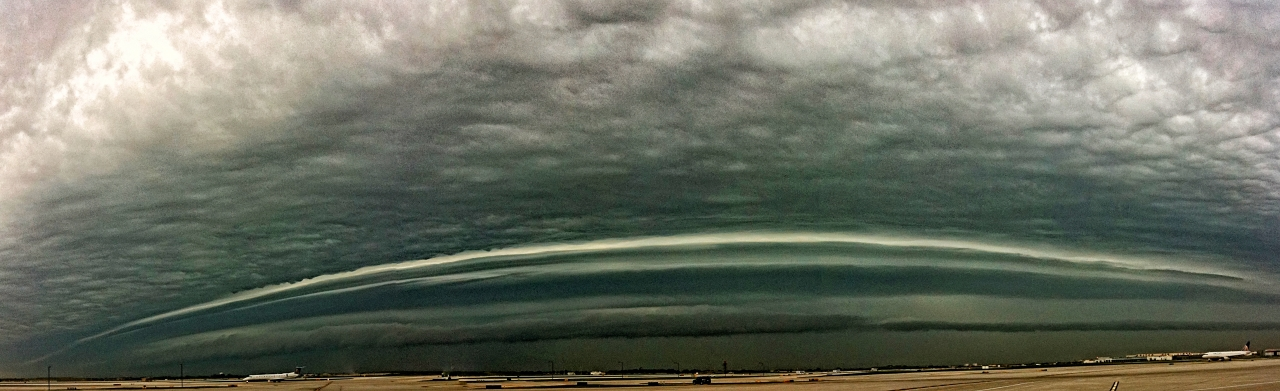 Storm Front at O'Hare Airport