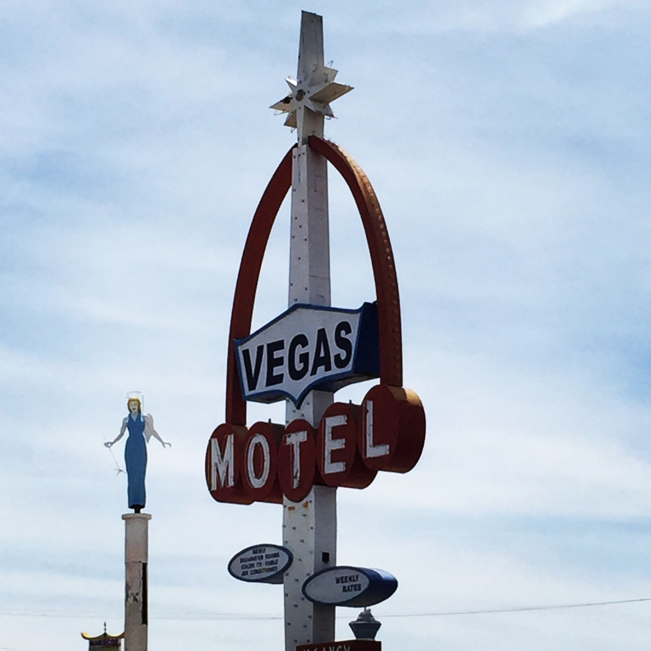 The Blue Angel and Vegas Motel