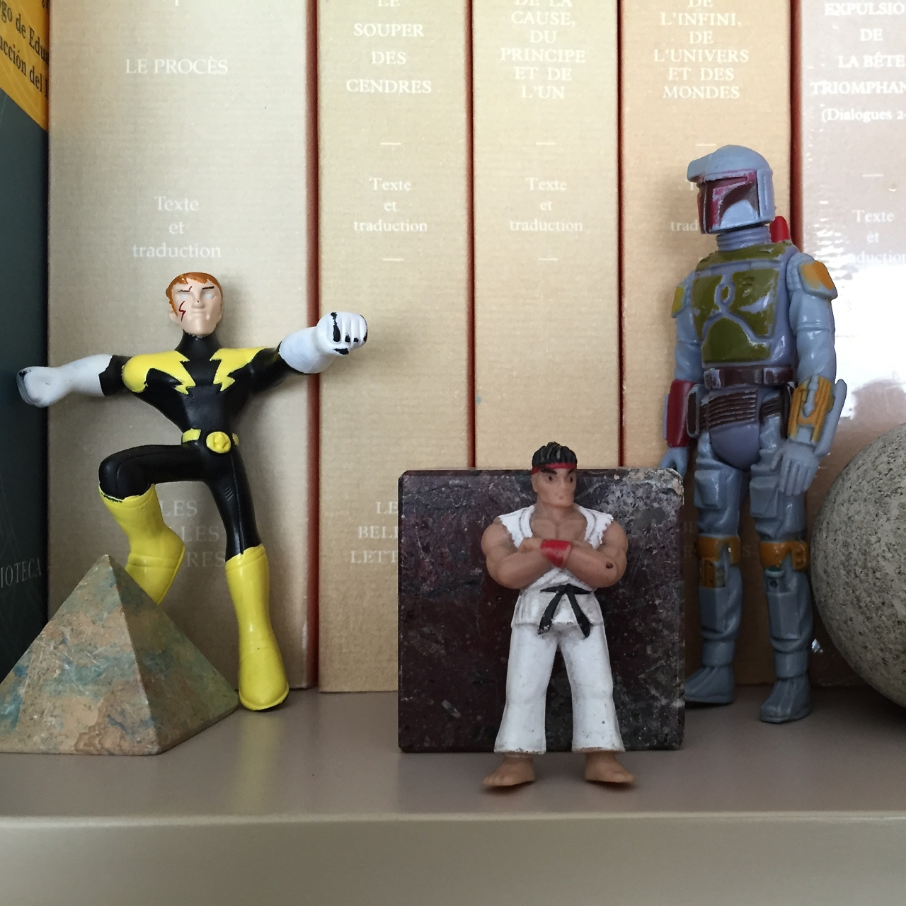 Guardians of literature...may the force be with you