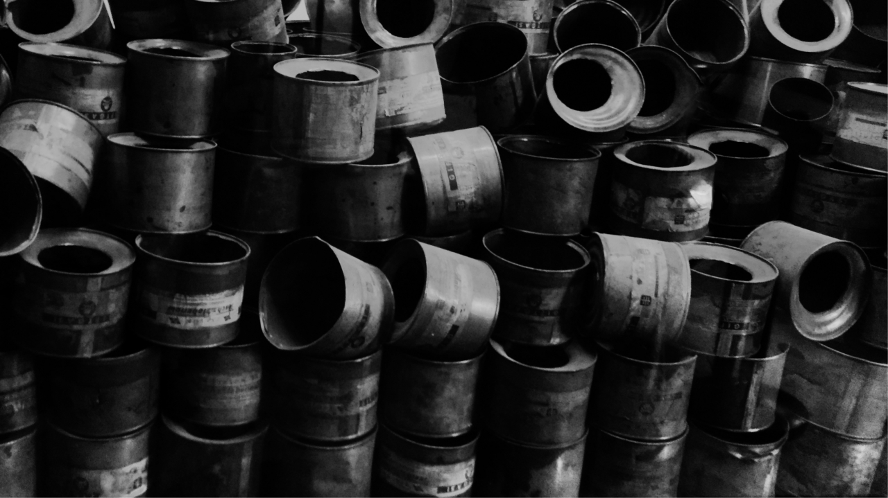 Taken at Aushwitz 1. some of the canisters found on the camps liberation.<br /> Taken with moto...