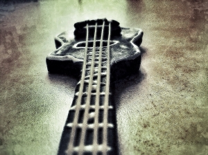 Clay 4 String Acoustic Bass