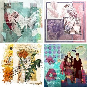 Ann's Collages