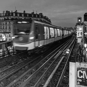 View from La Chapelle metro station