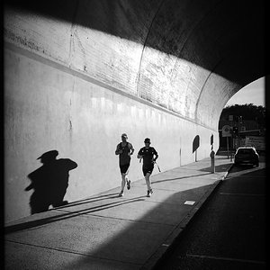 Early Morning Runners